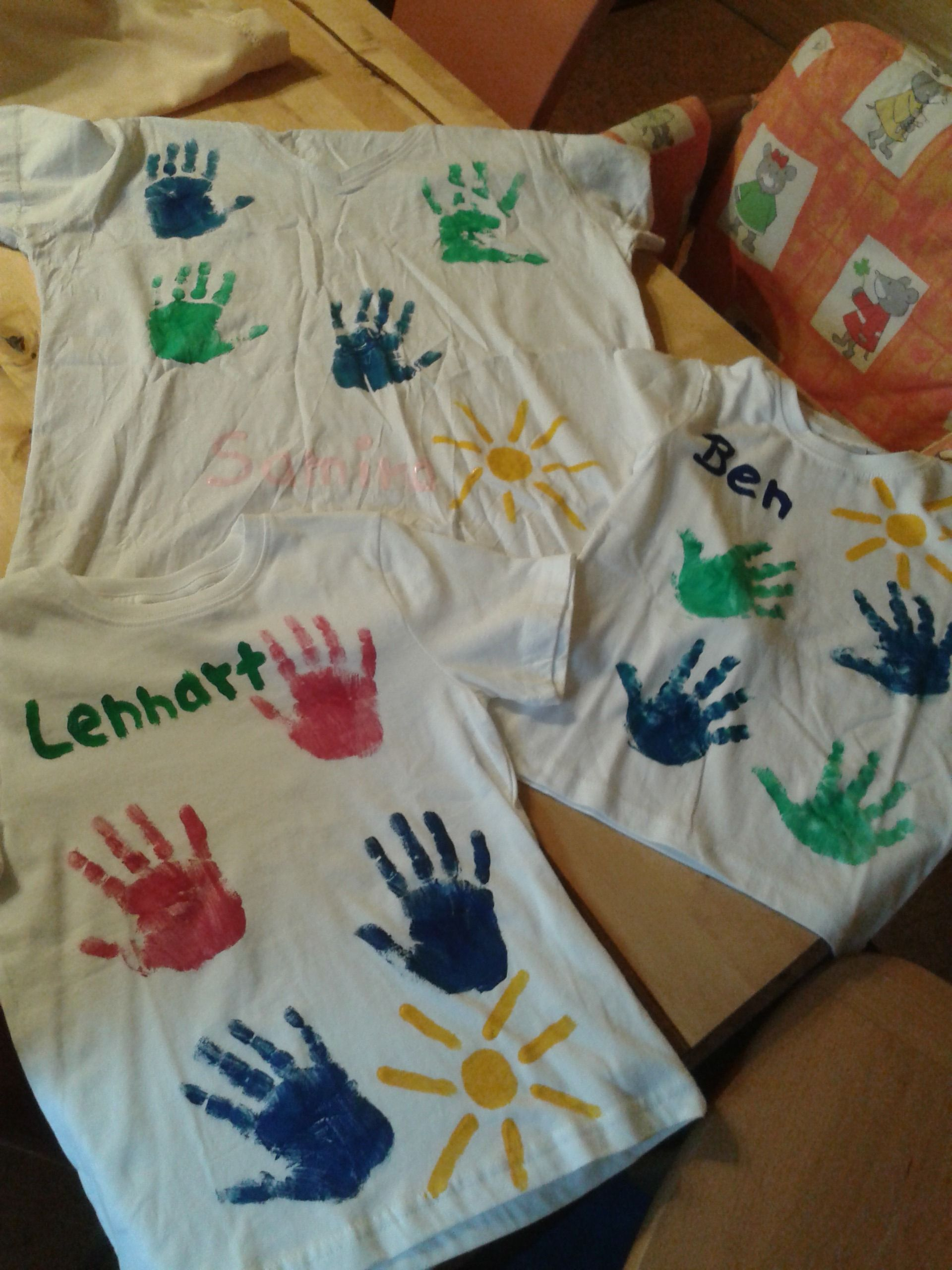 Kreative, individuelle T-Shirts