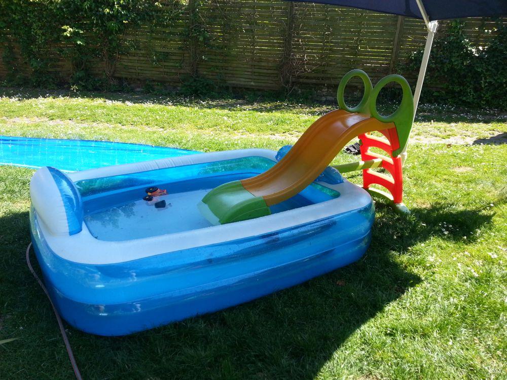 Wasserspaß bei schönstem Sommerwetter