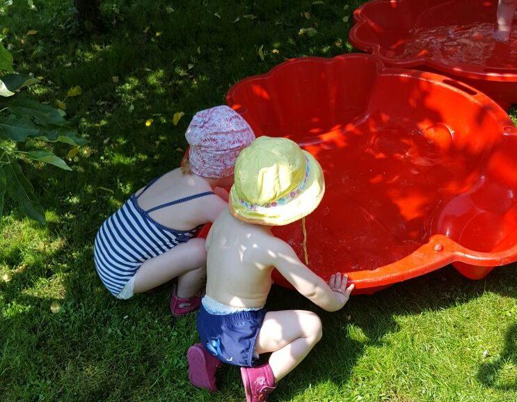 Der Sommer naht: Planschen und ein neuer Wasserspielplatz