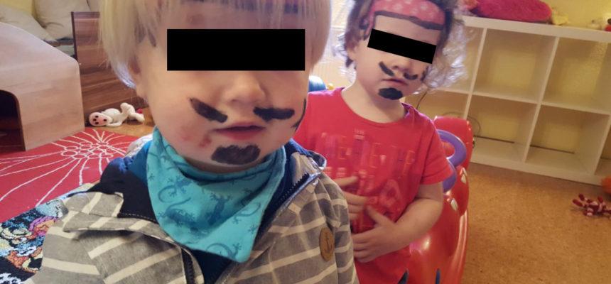 Kinderschminken – Räuber und Piraten