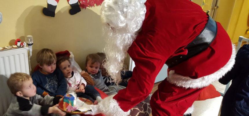 Der Nikolaus besucht die MiniPiraten Tageskinder