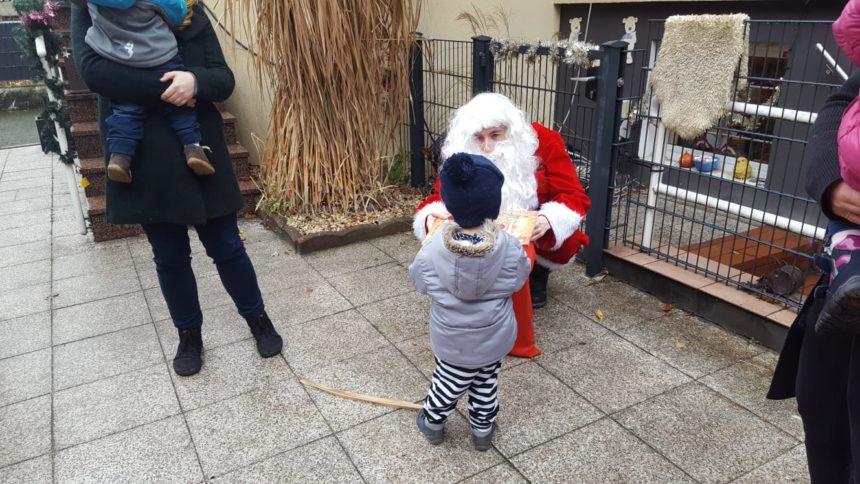 Der Nikolaus besucht die MiniPiraten