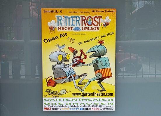 """""""Ritter Rost"""" im Oberhausener Gartentheater"""